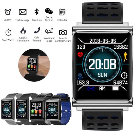 MNWT Men Smart Watch N98 Blood Pressure Heart Rate Monitor