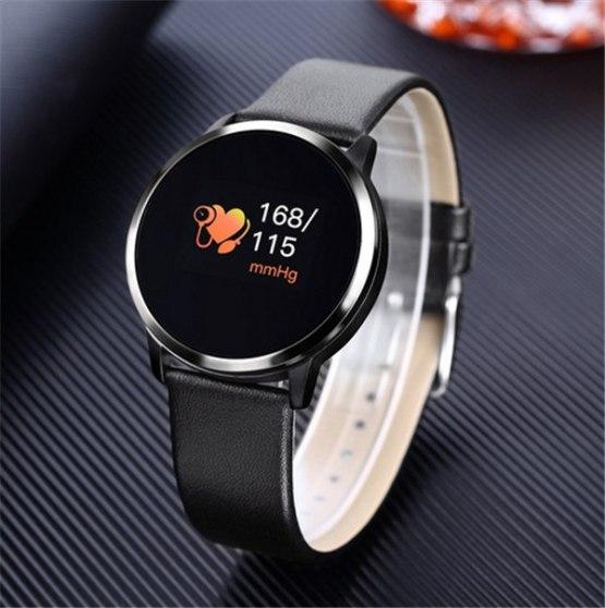 2019 New Smart Watch Men Q8 OLED Bluetooth Device Smartwatch