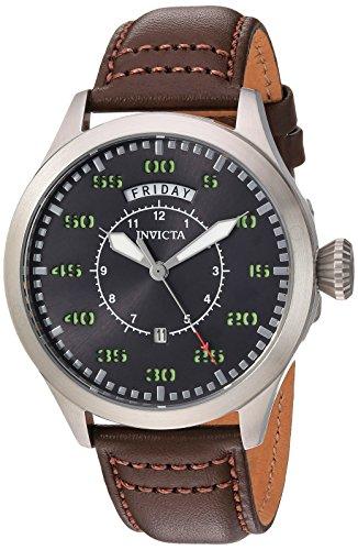 Invicta Men's Aviator Stainless Steel Quartz Watch