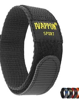 IVAPPON Hook Loop Sport Watch Strap 18mm 20mm 22mm