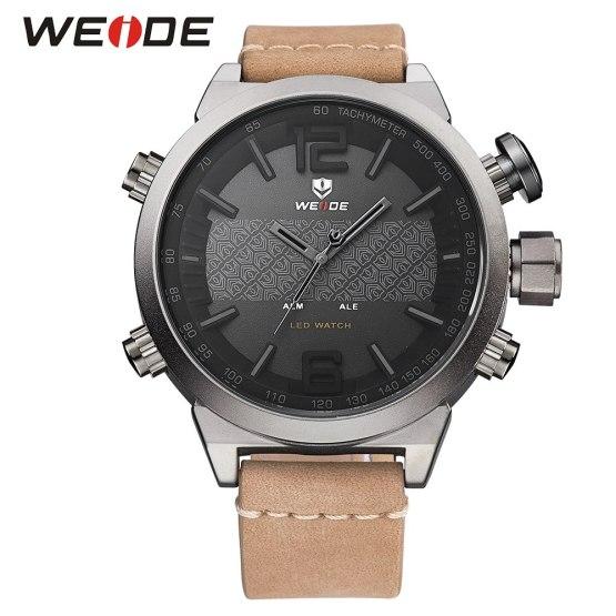 Weide Brand New Hot Men Sports Watches LED Digital Quartz Wrist Watches