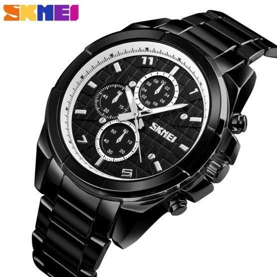 SKMEI Bluetooth Smart Watch Men Wristwatches Calorie Pedometer