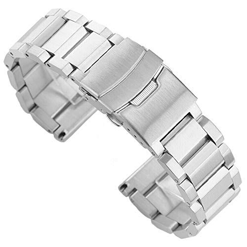 Kai Tian Stainless Steel Watch Strap Polished Matt Finish Watch Band