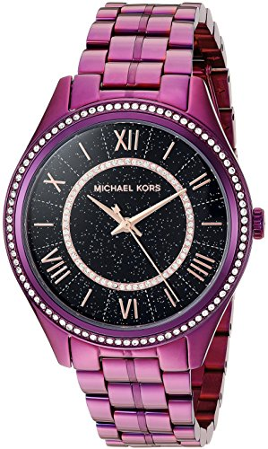 Michael Kors Women's Lauryn Plum Watch