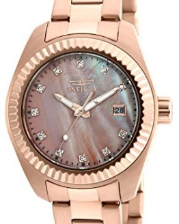 Invicta Women's Specialty Analog Quartz Rose Gold