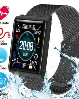 Fitness Smart Watch Men Women Heart Rate Monitor Waterproof