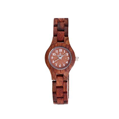 Red Sandalwood Women's Wood Wooden Bracelet Watch