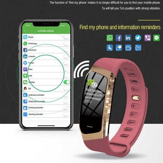 zk20 Business Sport Smart Watch Men Fitness Tracker Heart Rate Blood Pressure