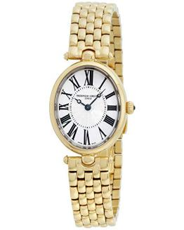 Frederique Constant Women's Art Deco Swiss Quartz Gold Watch