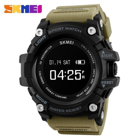 Smartwatch For Iphone IOS Android Rechargeable Heart Rate
