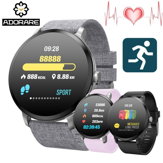 ADORARE V11 Smart watch IP67 waterproof Tempered Glass Activity Fitness
