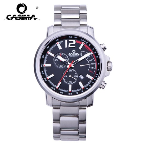 New Luxury Brand Watches Men Casual Charm Function Chronograph Sport