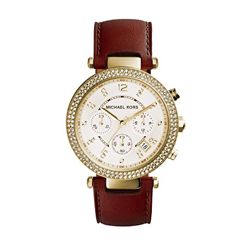 Michael Kors Women's Parker Gold-Tone Watch MK2249