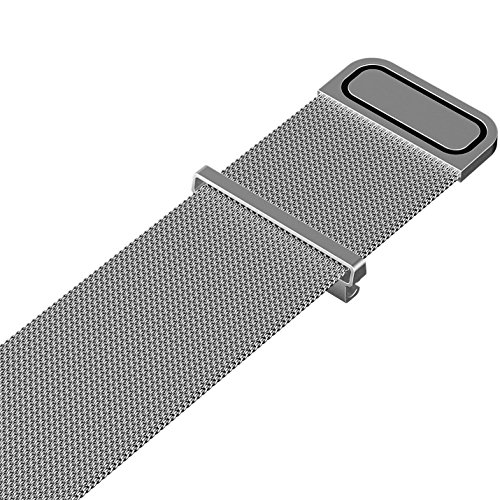 Cbin Quick Release Bracelet - Choice of Color and Width 1. Stainless metal mesh loop and Robust magnetic clasp, handy for you to regulate the scale in seconds; very snug to put on and straightforward to put in.