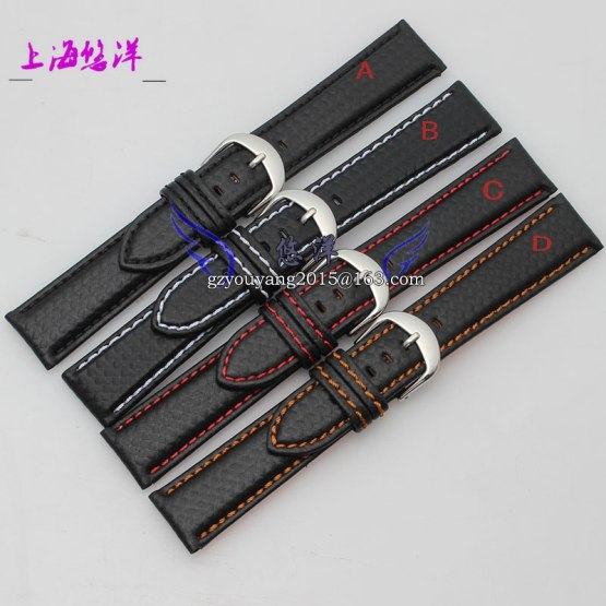 Watch Strap 18mm 20mm 22mm 24mm New Mens High Quality Leather
