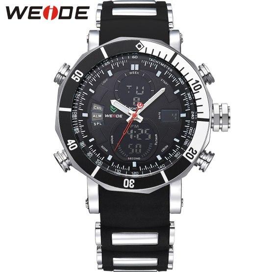 Luxury Brand WEIDE Quartz Wrist Watches Business Men Watch