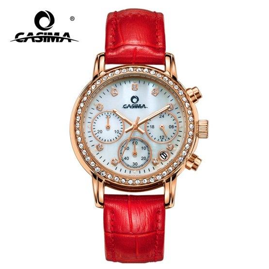Watches Women Elegant Leisure Gold Crystal Women's Quartz Wrist Watch