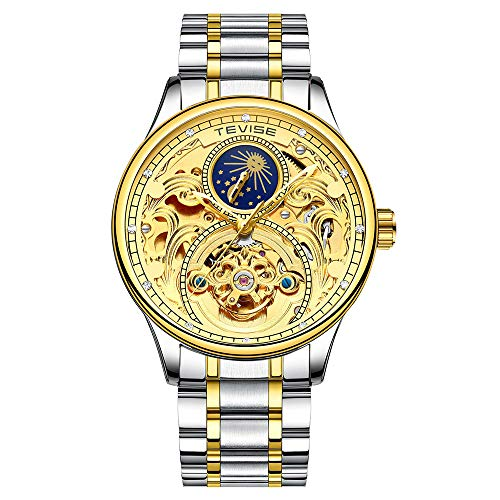 Men's Watches Mens Watches Men Skeleton Mechanical Automatic