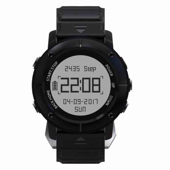 UW80 GPS Smart Watch men SOS Thermometer Pressure Gauge Sport