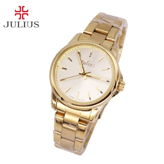 Top Julius Lady Woman Wrist Watch Fashion Hours Dress Business