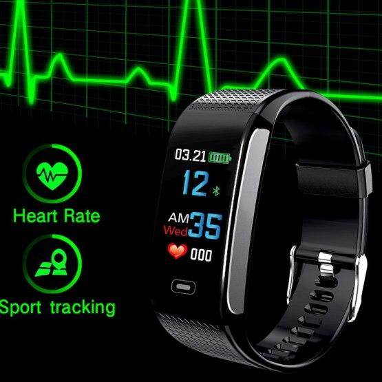 SANDA CK18 Bluetooth Smart Watch IP67 Waterproof Blood Pressure