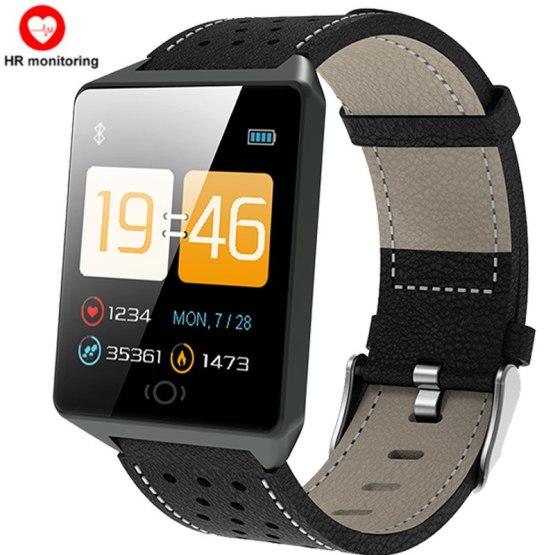 Fitness CK19 Rimless Smart Watch Men Women Heart Rate Monitor