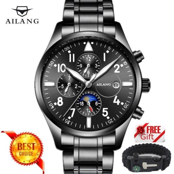 Famous Luxury Brand Fashion Automatic Mechanical Watch Men