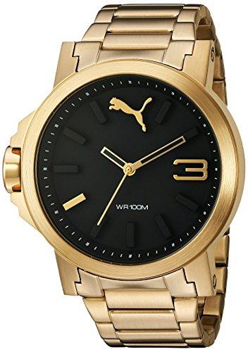 PUMA Women's Analog Display Quartz Gold Watch