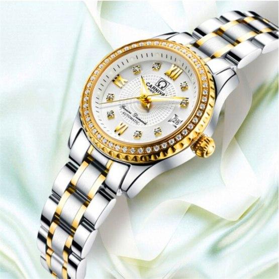 Luxury Brand Relogio Feminino Date Clock Female Waterproof 30M Watch