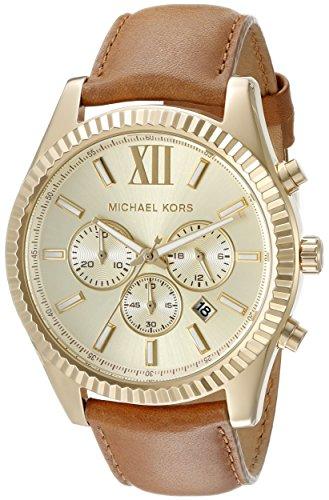 Michael Kors Men's Lexington Gold-Tone Watch
