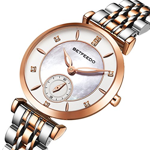 Wrist Watch for Women, Ladies Watch,Rose Gold Watch for Girls