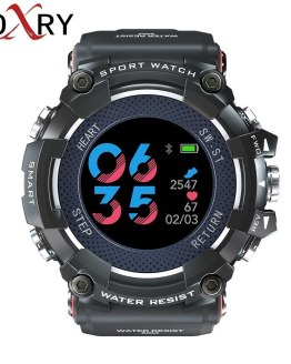 COXRY Color Smart Watches Men Heart Rate Monitor Sports Watches
