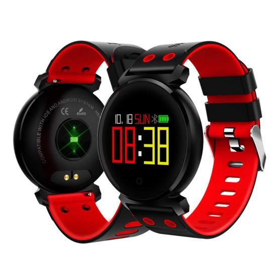 Smart Sport Watch Men Women Blood Pressure Monitor LED Smartwatch