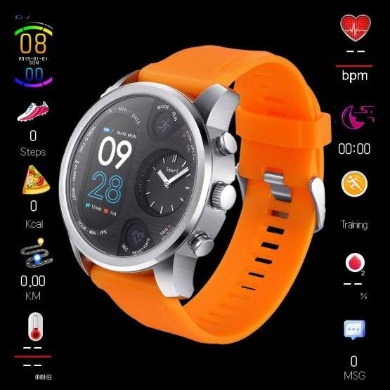 Sport Smart Watch BOAMIGO 5ATM Waterproof Bluetooth Watches