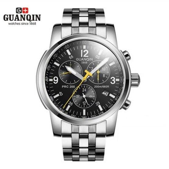 New GUANQIN Men Watch Business Luminous Luxury Brand Mechanical Watch