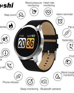 Brand POSHI Men Smart Watches Waterproof Calorie Sport Wristwatch