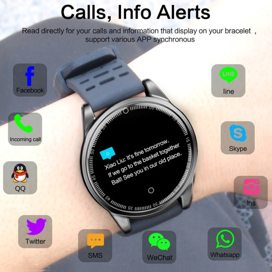 Smart Watch for Men and Women Heart Rate Monitor Pedometer