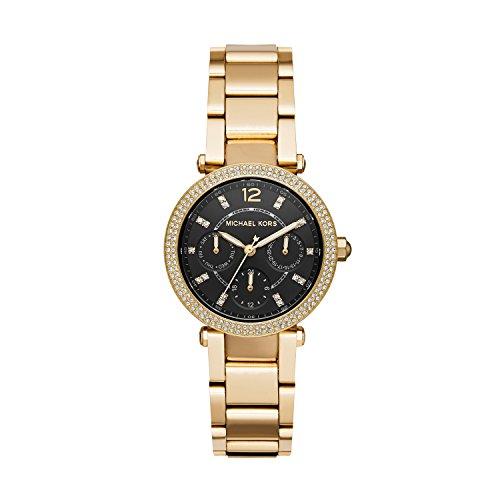 Michael Kors Women's Mini Parker Watch Analog-Quartz Stainless-Steel Strap