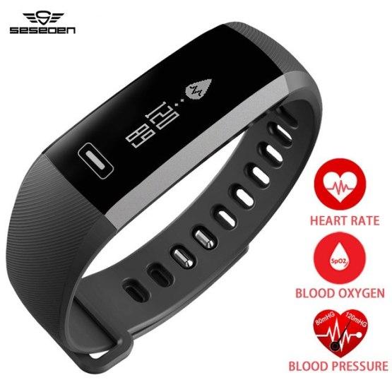 Original R5 pro Smart wrist Band Heart rate Blood Pressure Oxygen Watch