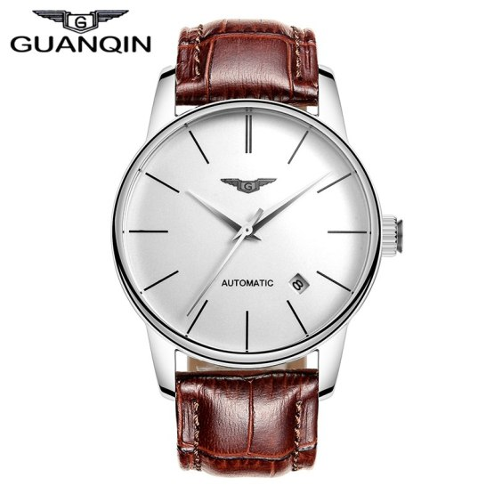 2018 GUANQIN Mens Watch Top Luxury Brand Mechanical Watches