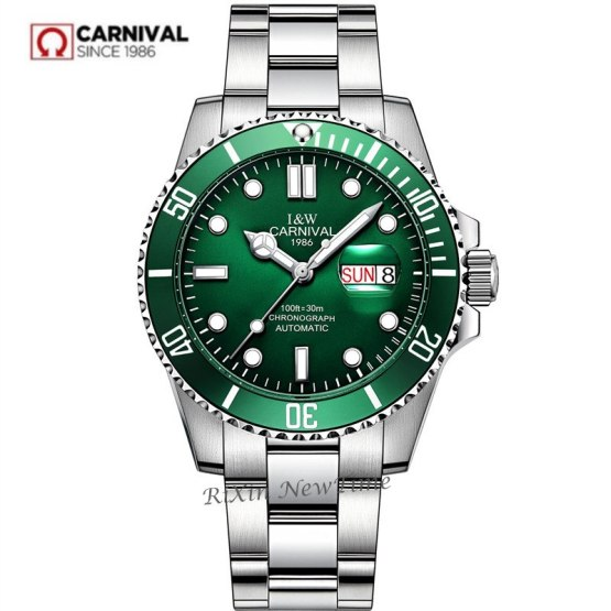 2019New mens watches top brand luxury Carnival automatic mechanical