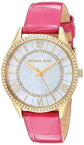 Michael Kors Women's Mini Lauryn Watch Stainless Steel Analog-Quartz