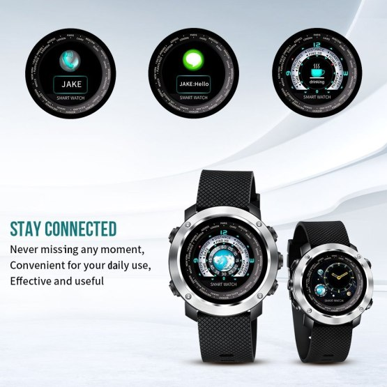 SKMEI Smart Watch Sport HeartRate Calories Remote Camera Smartwatch