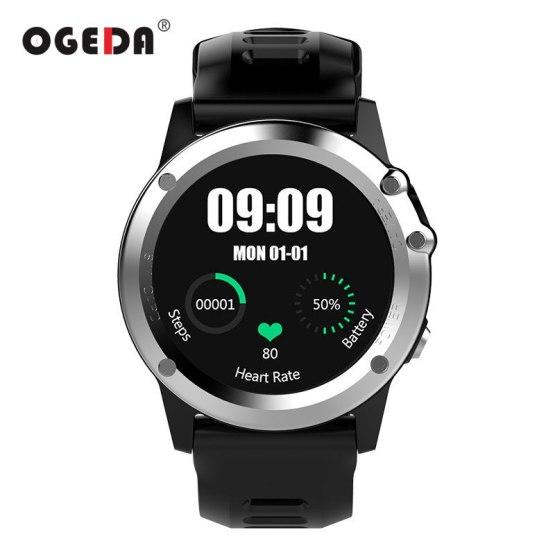 OGEDA GPS WIFI 3G Smart Watch Men Bluetooth Waterproof Smartwatch