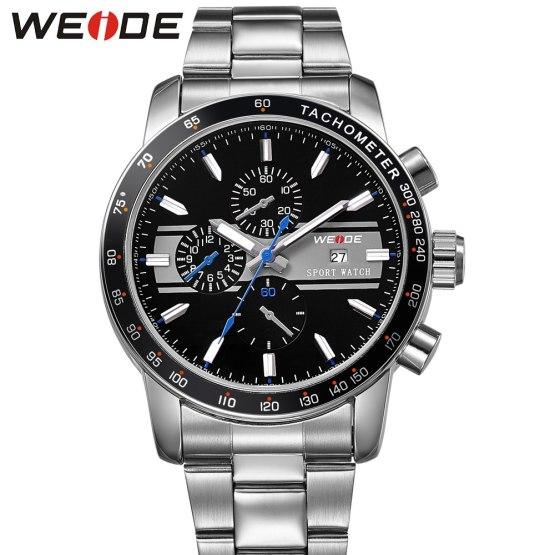 weide 2017 topquartz sports wrist watch casual genuine role luxury watch