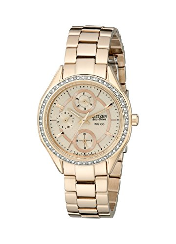 Drive From Citizen Eco-Drive Women's Watch with Crystal Accents and Date