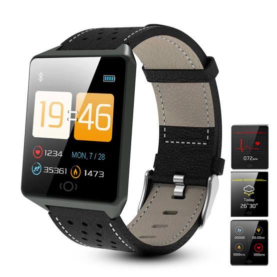 Smartwatch Mens Waterproof Wearable Device Intelligent Bracelet Watch