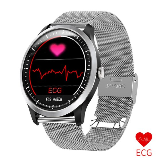 Top Brand Luxury Smart Watch Men ECG PPG Heart Rate Blood Pressure Monitor