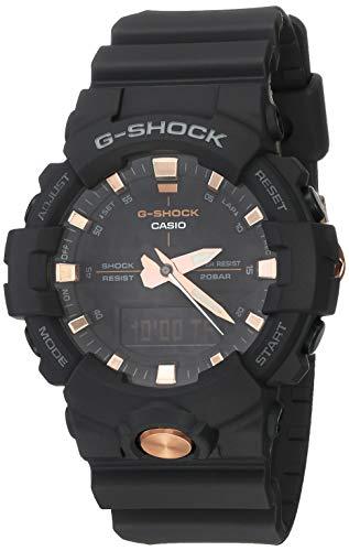 G-Shock (Casio) Analog-Digital Black Dial Men's Watch GA810B