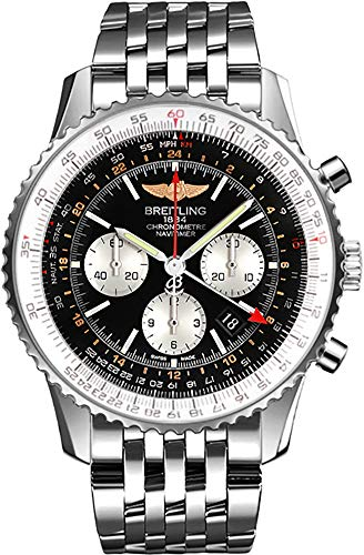 Breitling Navitimer GMT Men's Watch AB044121/BD24-453A